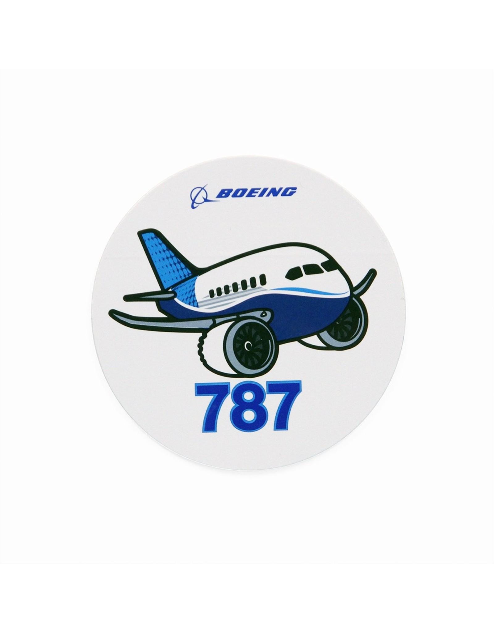 Boeing Sticker 787 Pudgy