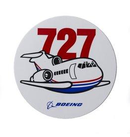 Boeing Sticker 727 Pudgy
