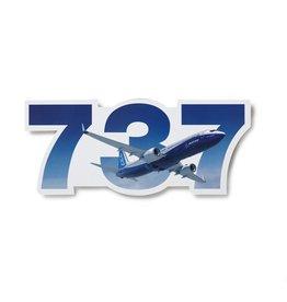 Boeing Sticker 737 die-cut