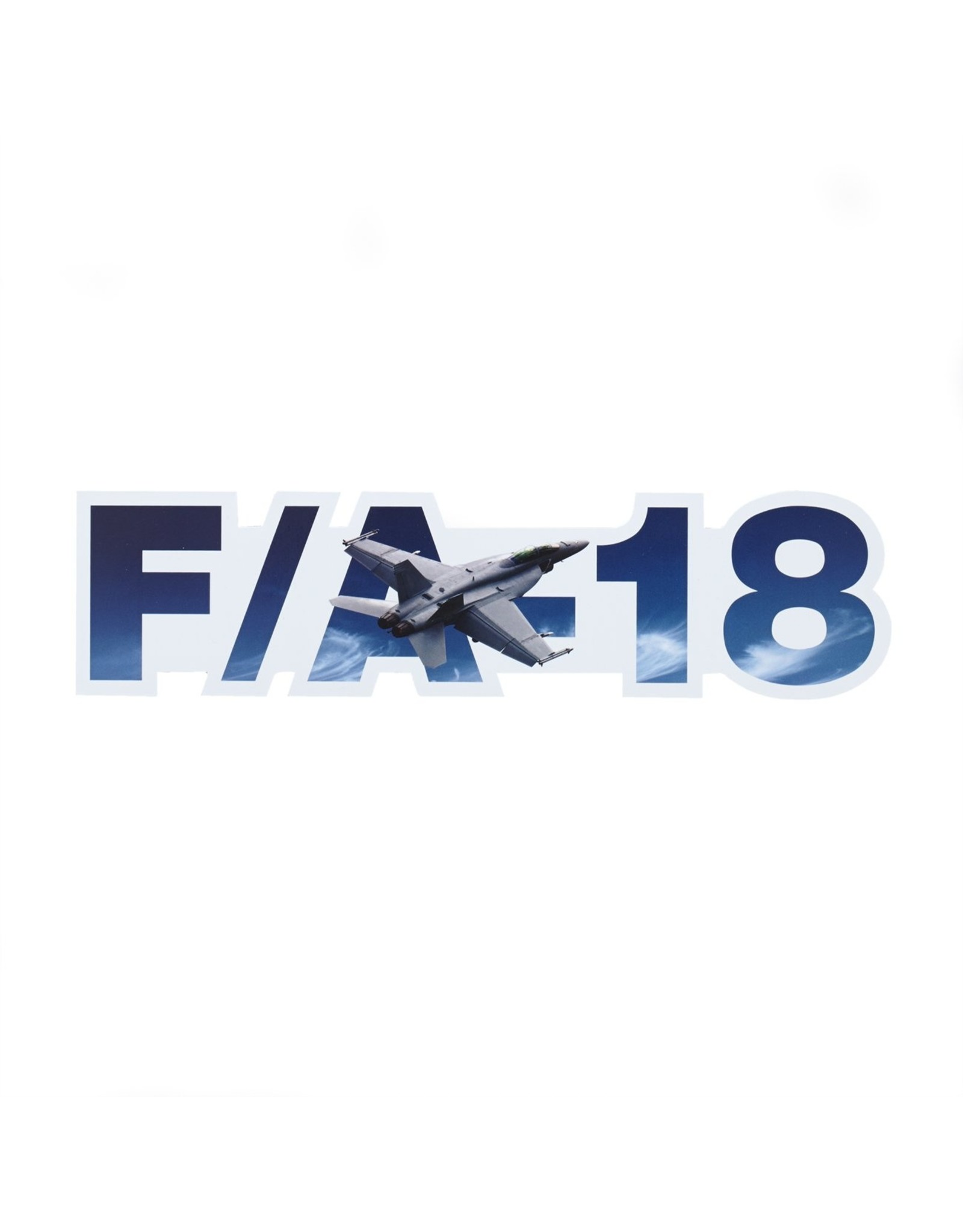 Boeing Sticker F/A-18 die-cut