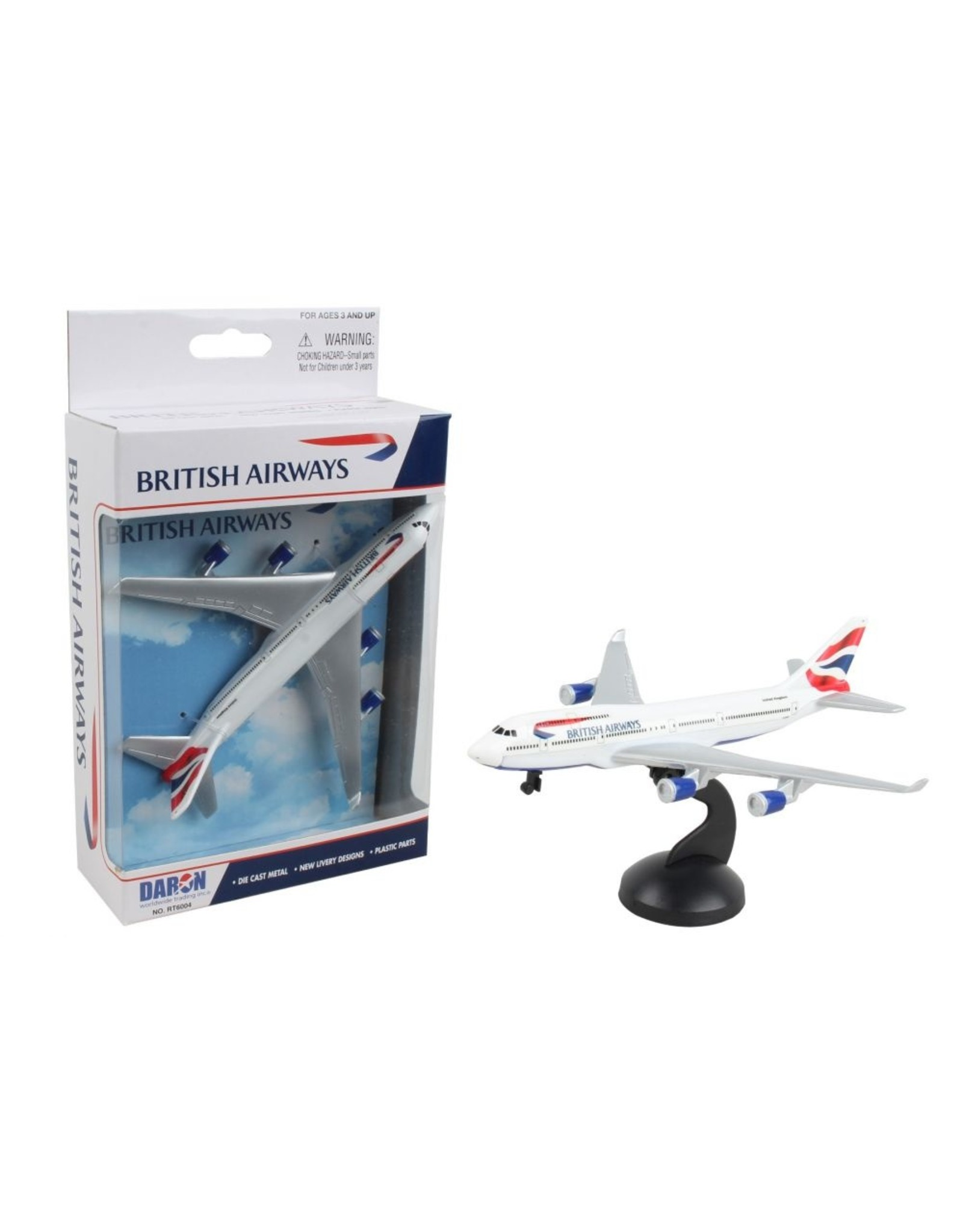 Realtoy Single Plane British 747