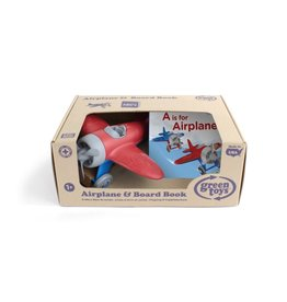 Green Toys GT Airplane & Board Book