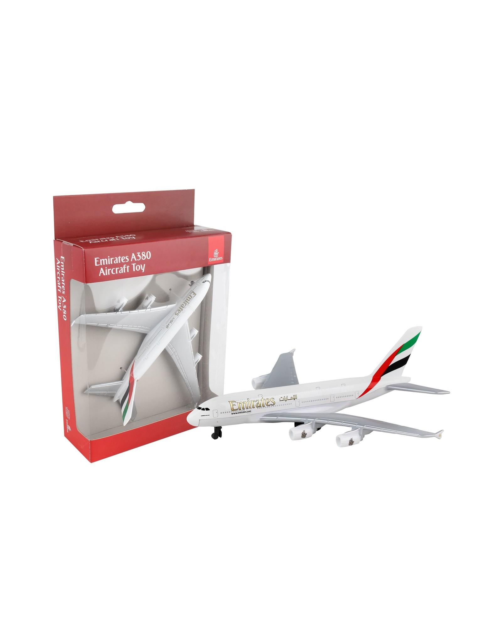 Single Plane Emirates A380