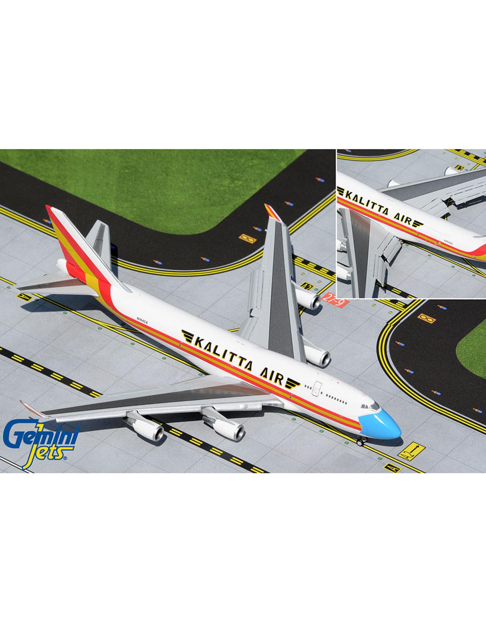 Gemini Gem4 Kalitta 747-400BCF flaps down - mask