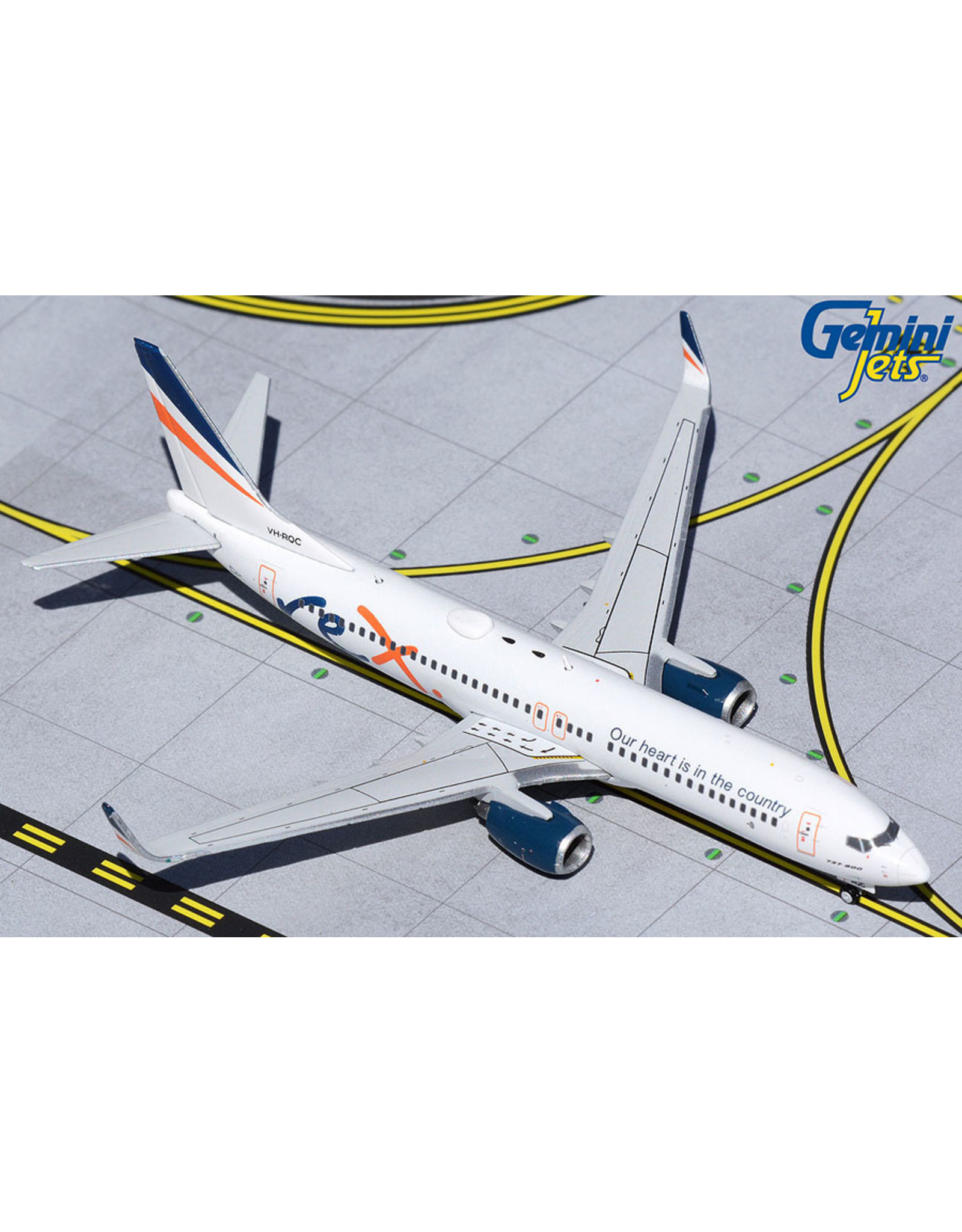Gemini Gem4 Regional Express (REX) 737-800