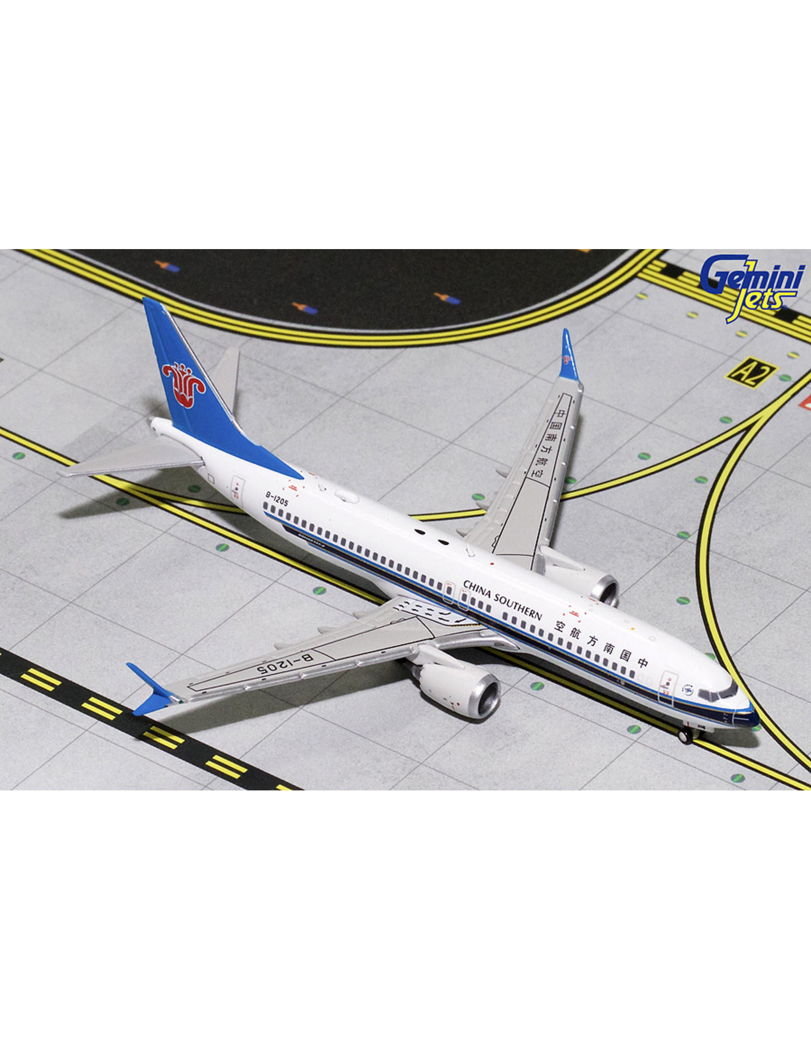 Gemini Gem4 China Southern 737max8 B-1205