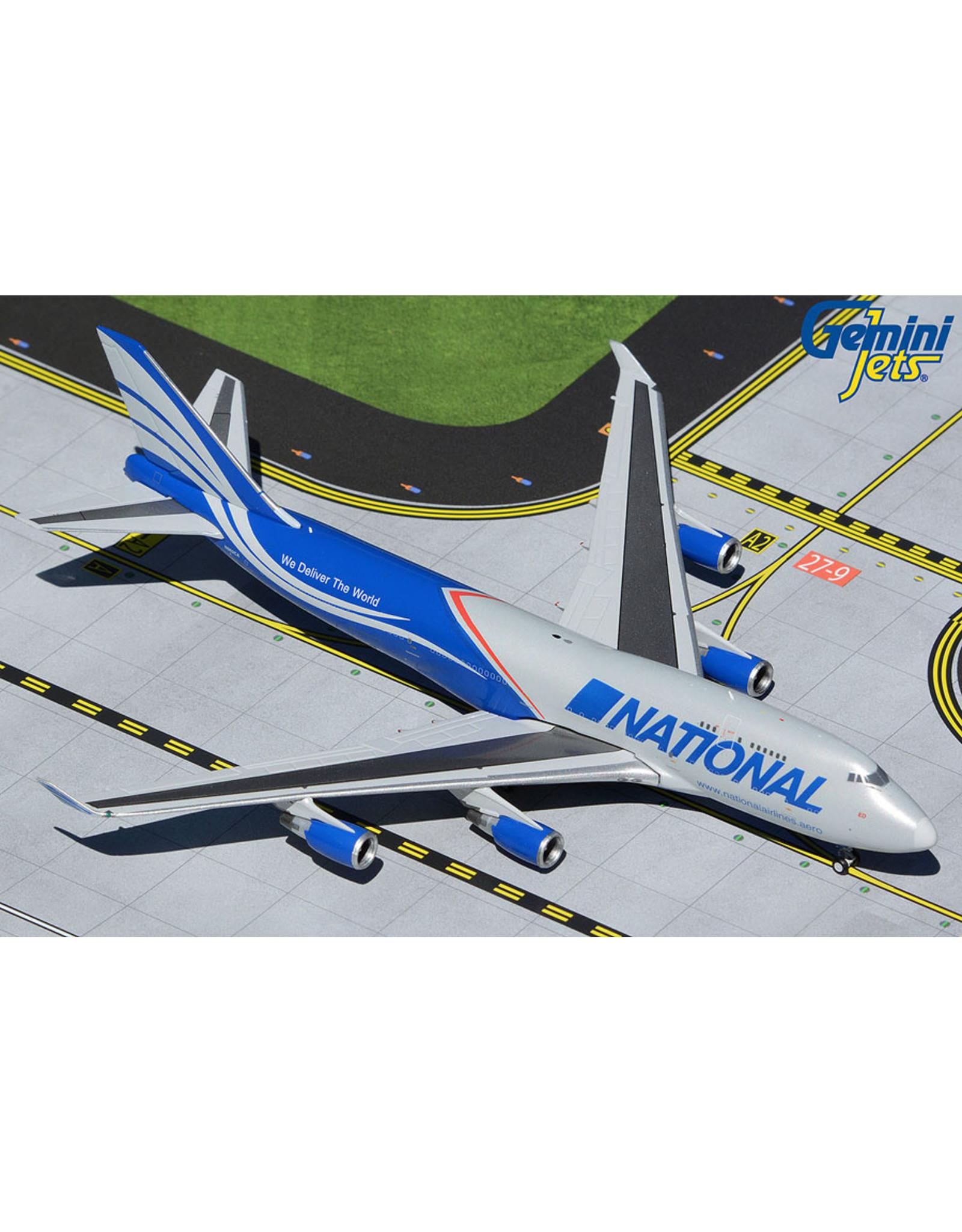 Gemini Gem4 National 747-400BCF N952CA