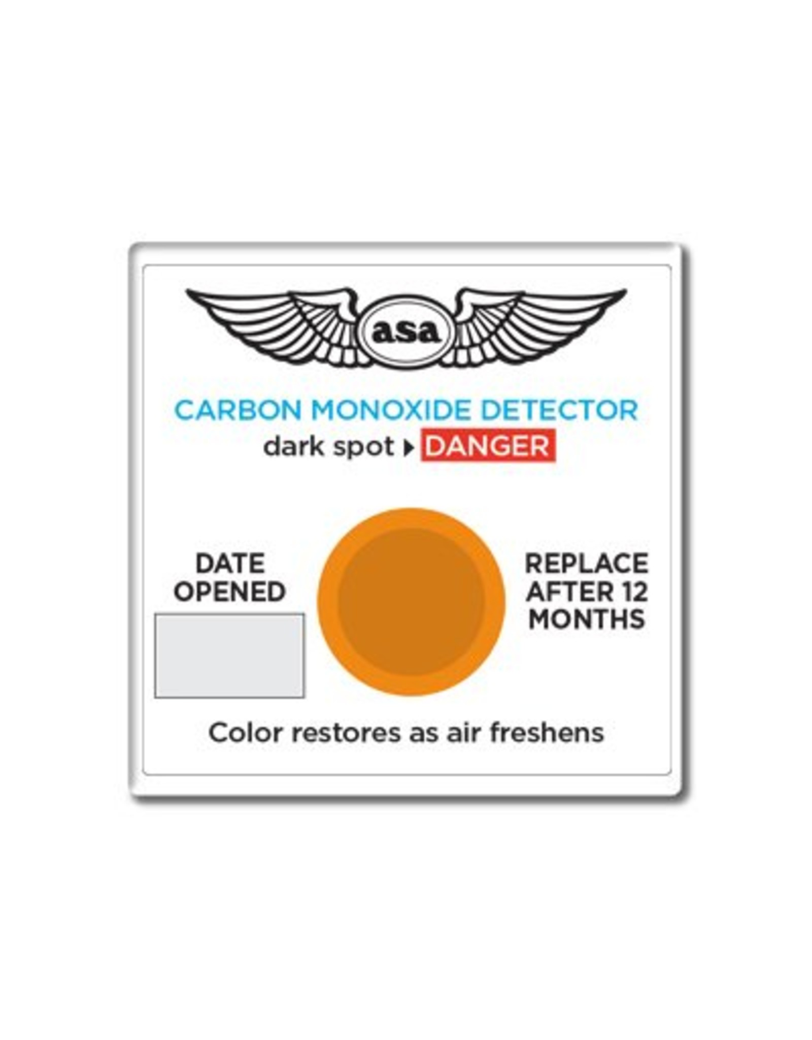ASA ASA CO Detector