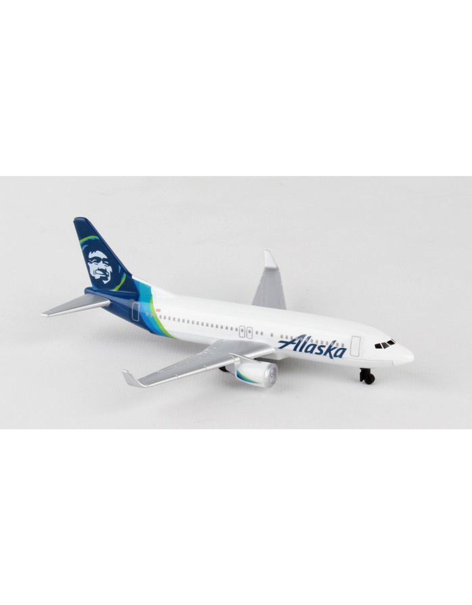 Single Plane Alaska Airlines