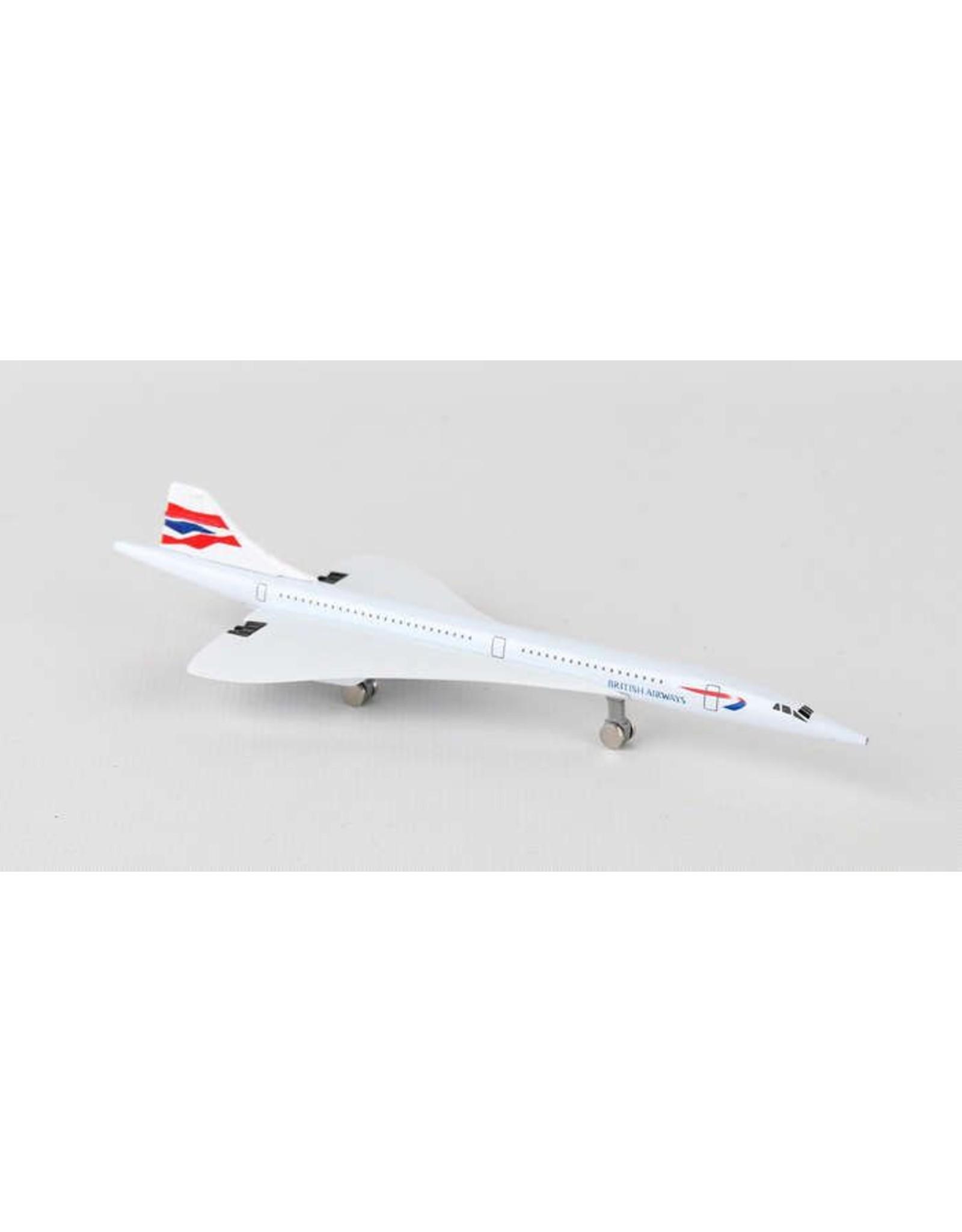 Single Plane British Concorde