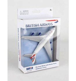 Single Plane British A380