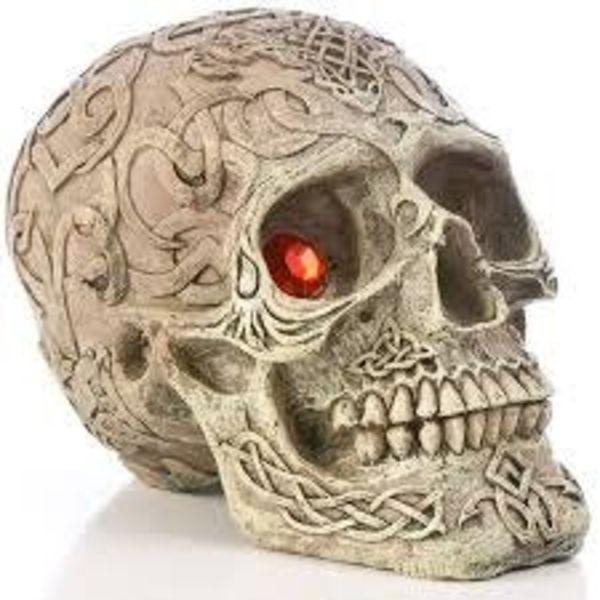 Deco Replica Skull Gazers 5in