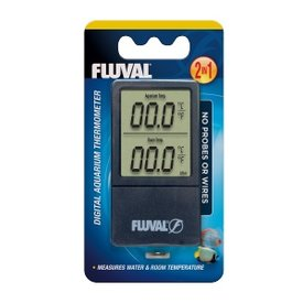 Fluval Fluval 2-in-1 Digital Aquarium Thermometer