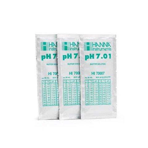 Hanna pH 7.01 & 10.01 Calibration Packets - 5 pack