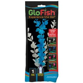 Tetra Tetra GloFish Colour Change Plant, Large Blue