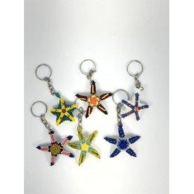 Keychain Starfish Assort