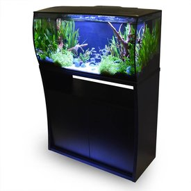 Fluval Flex 32 gallon Deluxe Aquarium Stand, Black