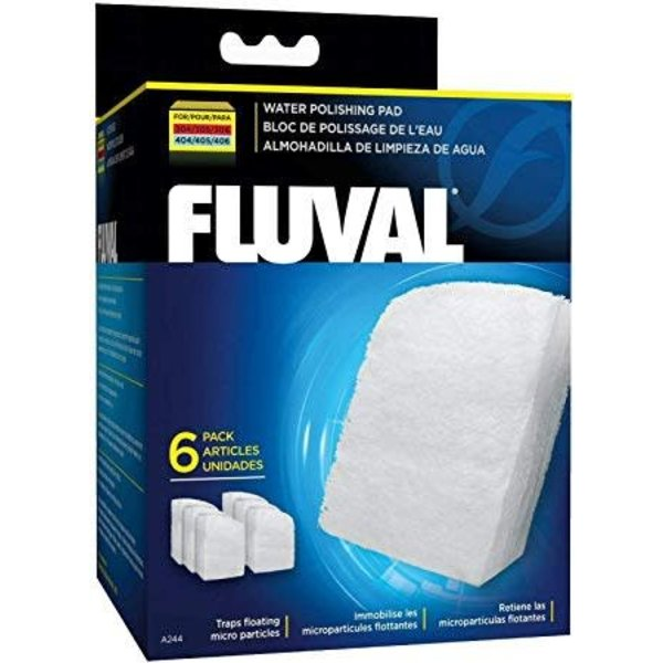 Fluval Fluval Polishing Pad for 304/305/306 and 404/405/406, 6 pieces