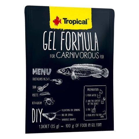 Tropical Gel Formula Carnivore 35g Satchet