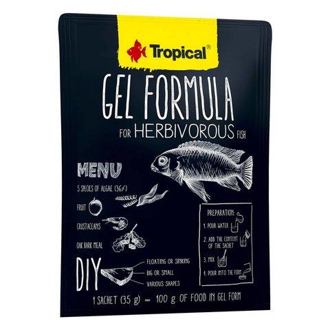 Tropical Gel Formula Herbivore 35g Satchet