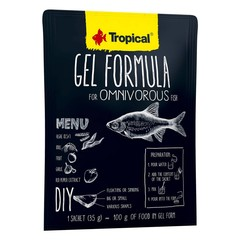 Products tagged with gel formula fish food