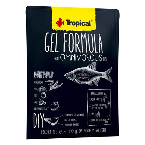 Tropical Gel Formula Omnivore 35g Satchet