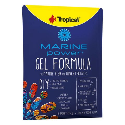 Tropical Gel Formula Marine Power 35g Satchet