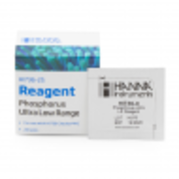 Hanna Instruments Hanna Instrument Phosphorus Ultra Low Range Reagents - HI736-25 (25 units)