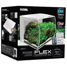 Fluval Fluval FLEX Aquarium Kit 9 gallon - White