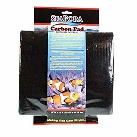 Seapora Seapora Carbon Filter Pad 10x18""