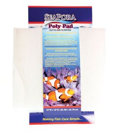 Seapora Seapora Poly Filter Pad 10 x 18""