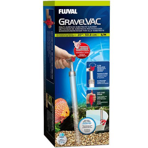 GravelVAC Multi-Substrate Cleaner (S/M), up to 20″ (50.8 cm)
