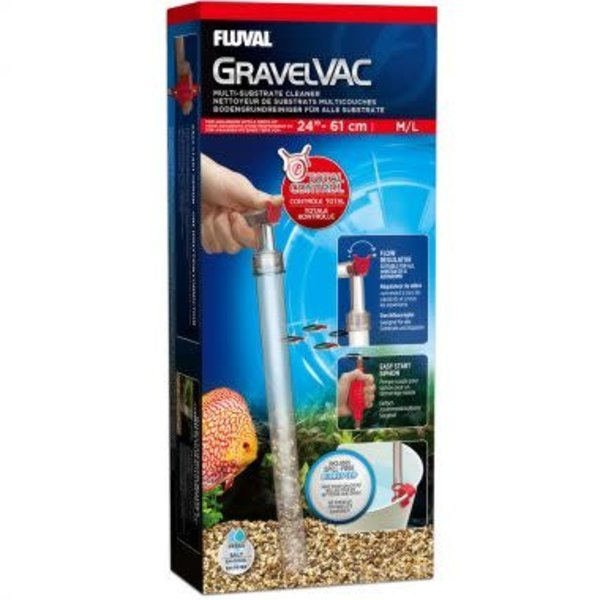 Fluval GravelVAC Multi-Substrate Cleaner (M/L), up to 24″ (60 cm)