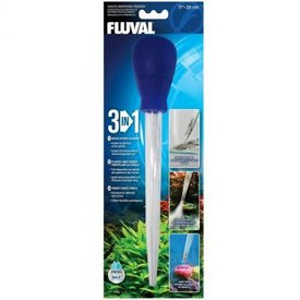 Fluval 3-in-1 Waste Remover/Feeder, Small