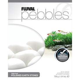 Fluval Fluval Pebbles - Polished Ivory Stones - 40-50 mm - 700 g (1.54 lb)