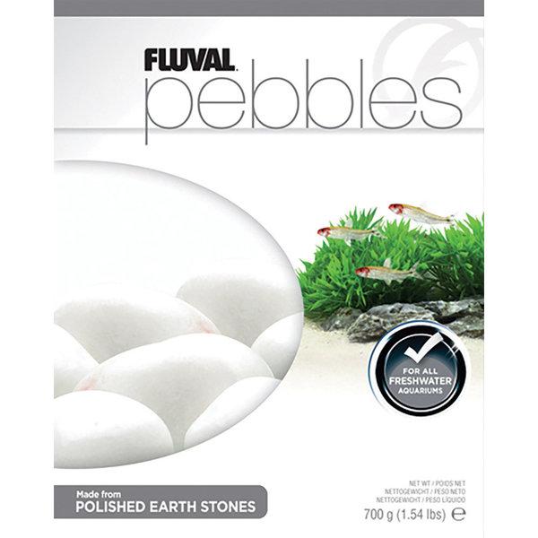 Fluval Fluval Pebbles - Polished Ivory Stones - 40-50 mm - 700 g (1.54 lb)