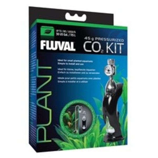 Fluval Fluval Pressurized 45 g CO2 Kit - For aquariums up to 115 L (30 US gal)