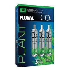Products tagged with Fluval 45 g CO2 Disposable Cartridges - 3 pack