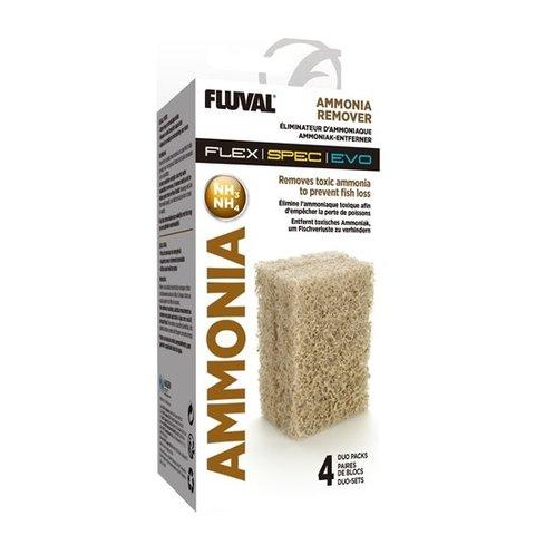 Fluval Ammonia Remover - 4 x Duo Pack
