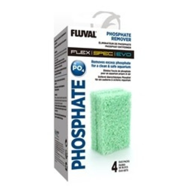 Fluval Fluval Phosphate Remover - 4 x Duo Packs