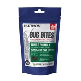 Nutrafin Bug Bites Turtle Formula – Medium to Large Turtles – 17-20 mm - 100 g (3.5 oz)