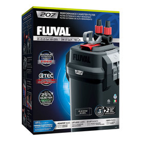 Fluval Fluval 207 Performance Canister Filter, up to 45 US Gal (220 L)