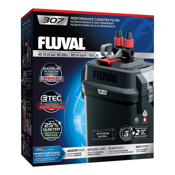 Fluval Fluval 307 Performance Canister Filter up to 70 US Gal (330 L)