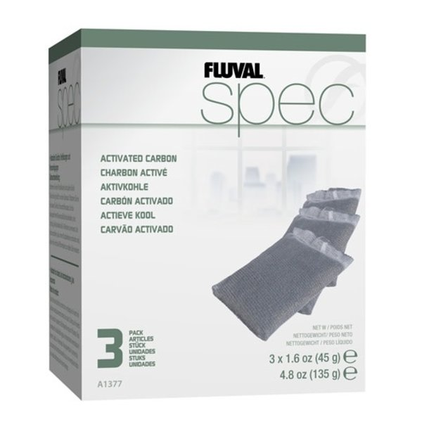 Fluval Fluval Spec Replacement Carbon - 3 pack