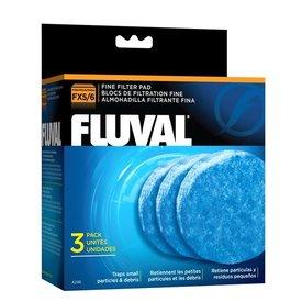 Fluval Fluval FX 5 Mediium Fine Filter Pads, 3-pack