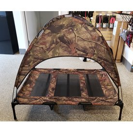 Camo Dog Cot/Tent XL