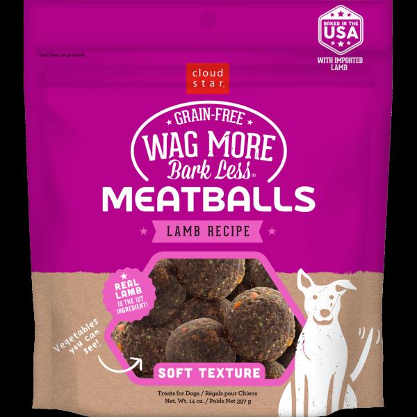 WMBL GF Meatballs Lamb 14oz