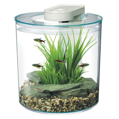 Marina 360 Degree Aquarium 2.65 gallon