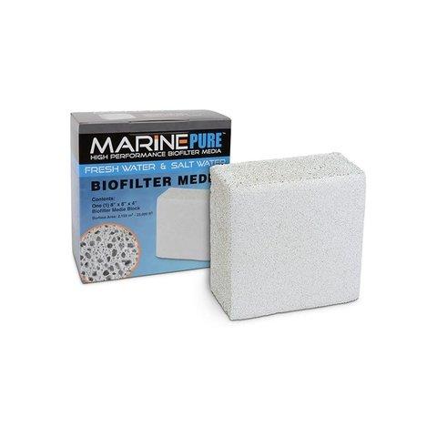 MarinePure Bio Filter Media 8''x8''x4'' Block