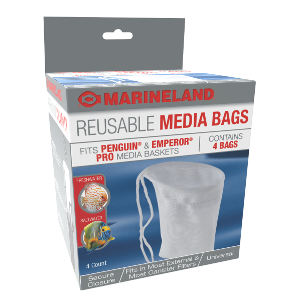 Marineland Marineland Reusable Media Bags, 4 Pack